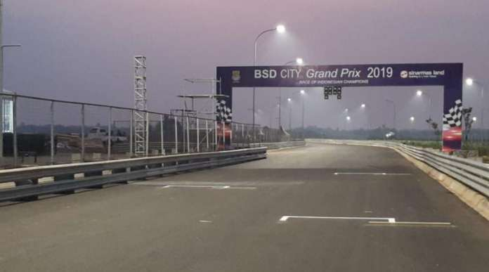 Venue Baru BSD City Grand Prix 2019 - Sumber Foto: mobilnews dotcom (28/11/2019)